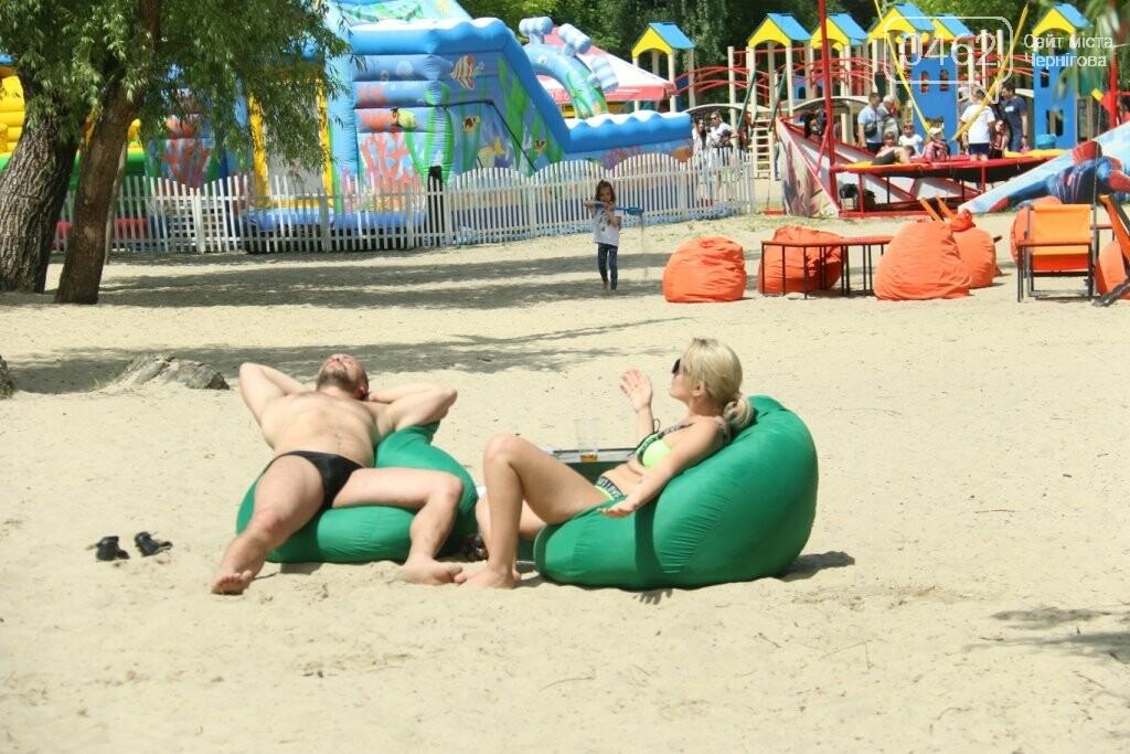 У Чернігові відкрили пляжний сезон. ФОТОРЕПОРТАЖ, фото-9