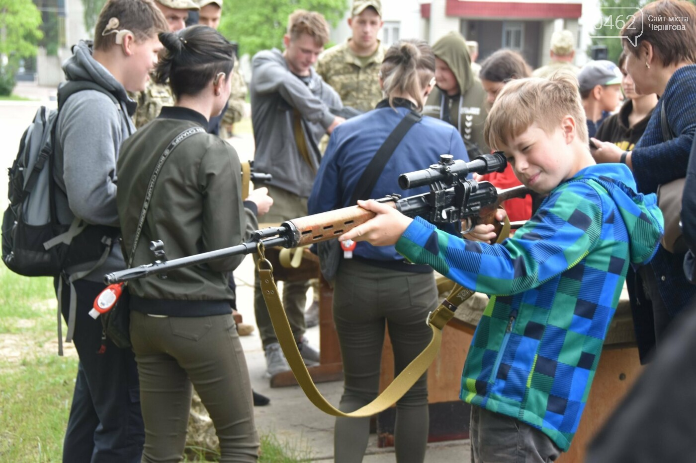 Як стати танкістом. Чернігівським дітям військові показали свою роботу і побут, фото-6
