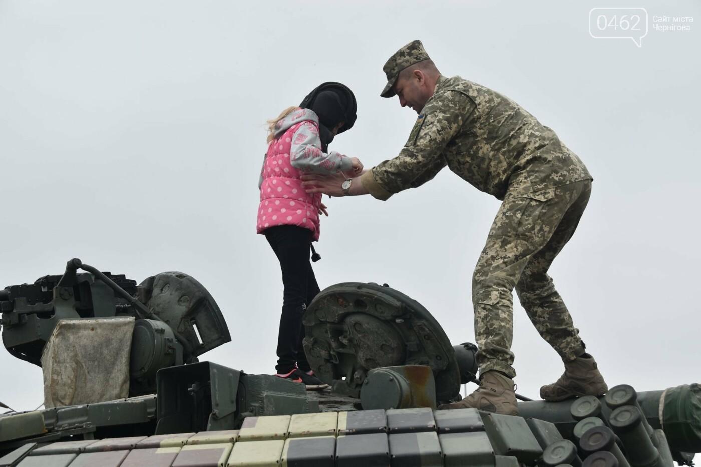Як стати танкістом. Чернігівським дітям військові показали свою роботу і побут, фото-5