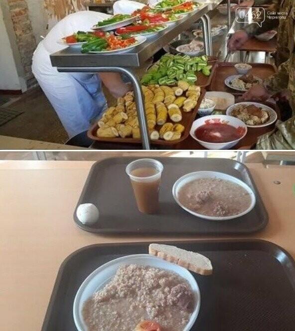 Чим годують чернігівських військових. Неапетитні фото з армійської їдальні обурили суспільство, фото-4