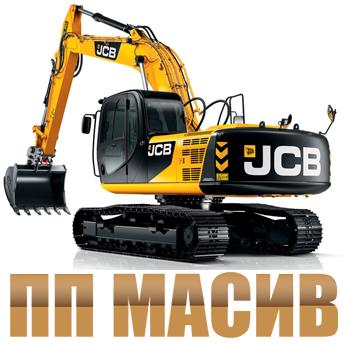 Логотип - Работы по разработке траншей. Услуги бульдозера, экскаватора, экскаватора драглайн. «ПП Масив»