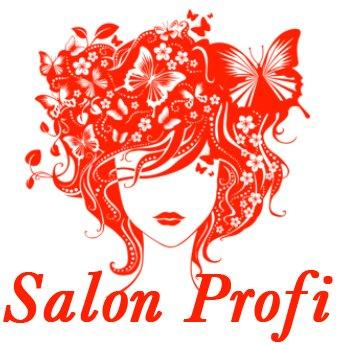 Логотип - Salon Profi, сеть магазинов по обслуживанию салонов красоты