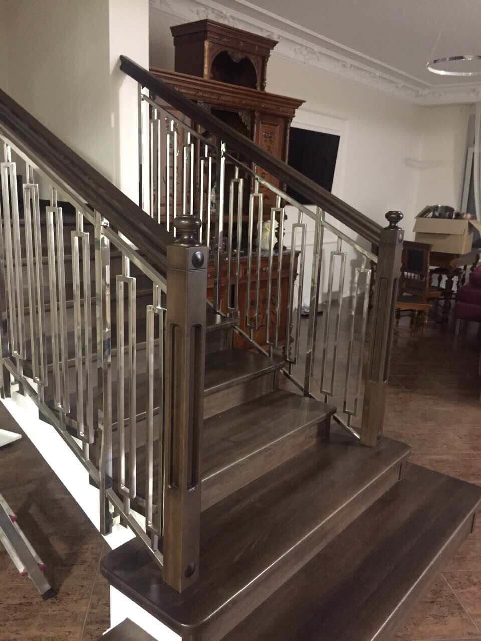 Практичность и эстетика - идеальное сочетание деревянной лестницы, фото-2