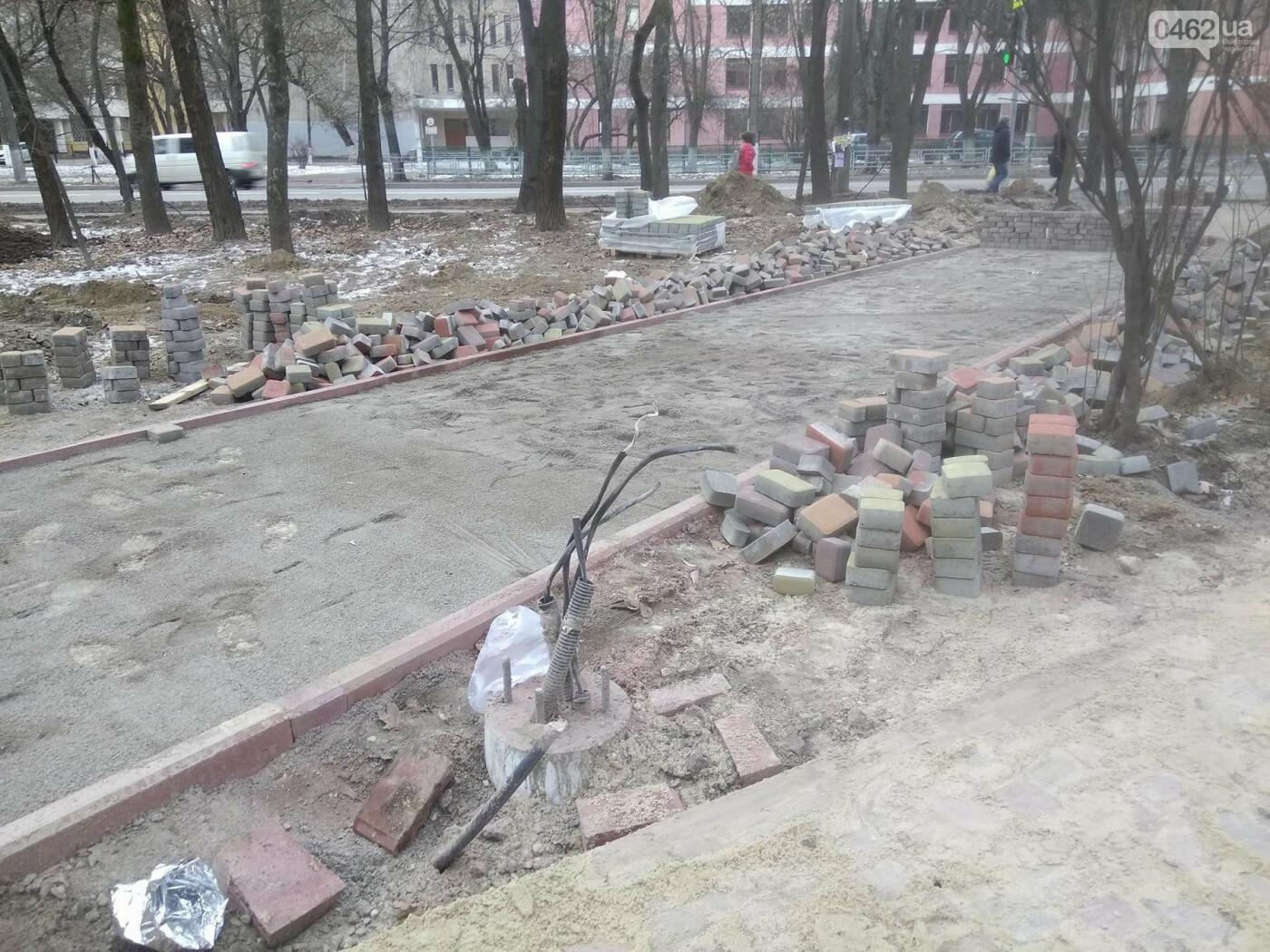 Ремонт скверу навпроти Політеху планують завершити в травні, фото-2