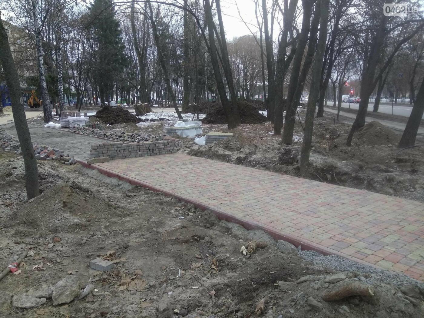 Ремонт скверу навпроти Політеху планують завершити в травні, фото-3