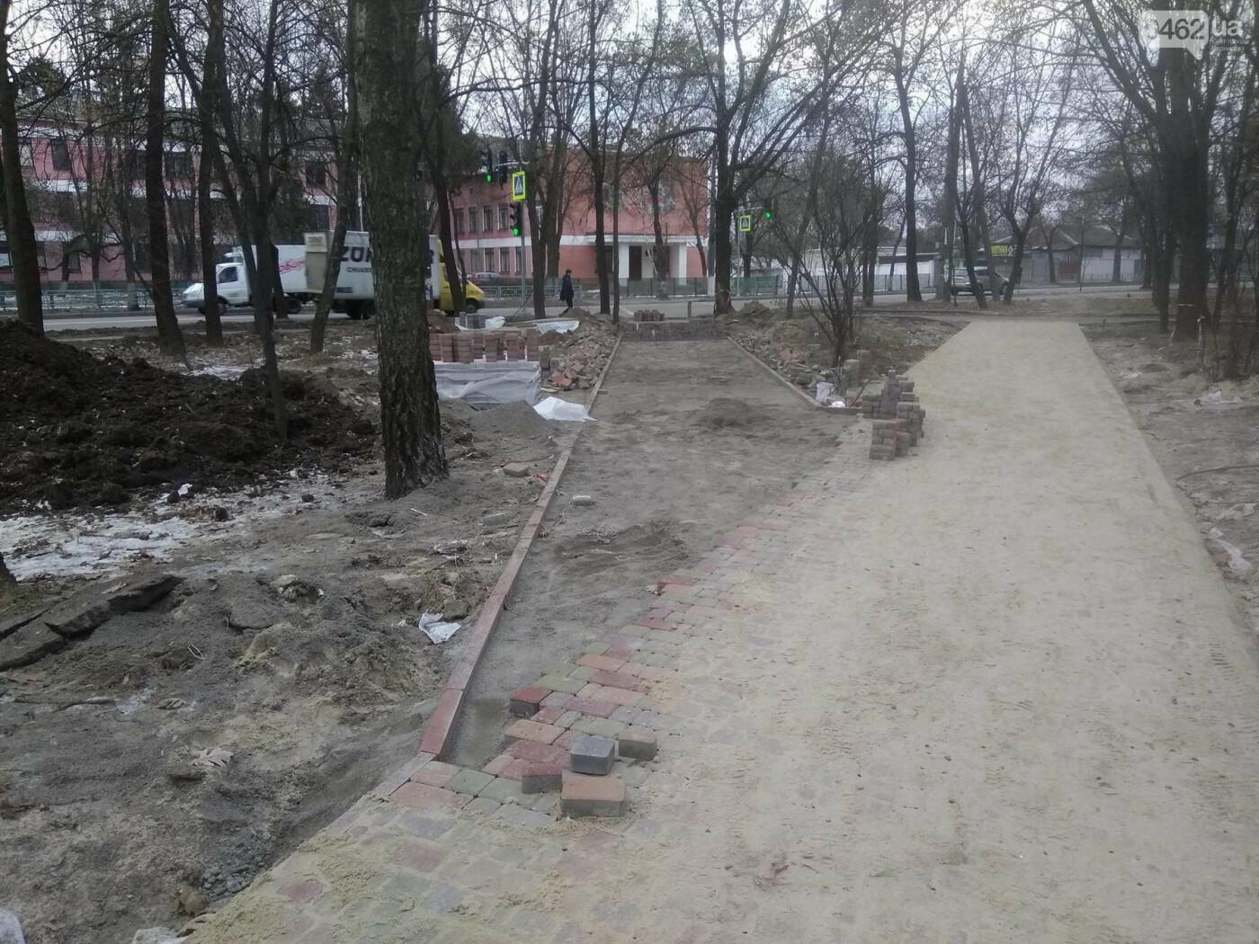 Ремонт скверу навпроти Політеху планують завершити в травні, фото-4