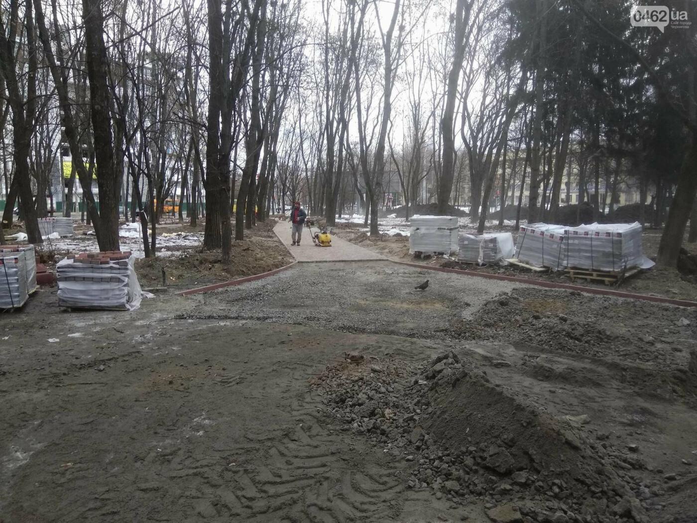 Ремонт скверу навпроти Політеху планують завершити в травні, фото-5