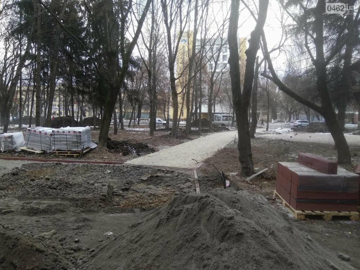 Ремонт скверу навпроти Політеху планують завершити в травні, фото-7