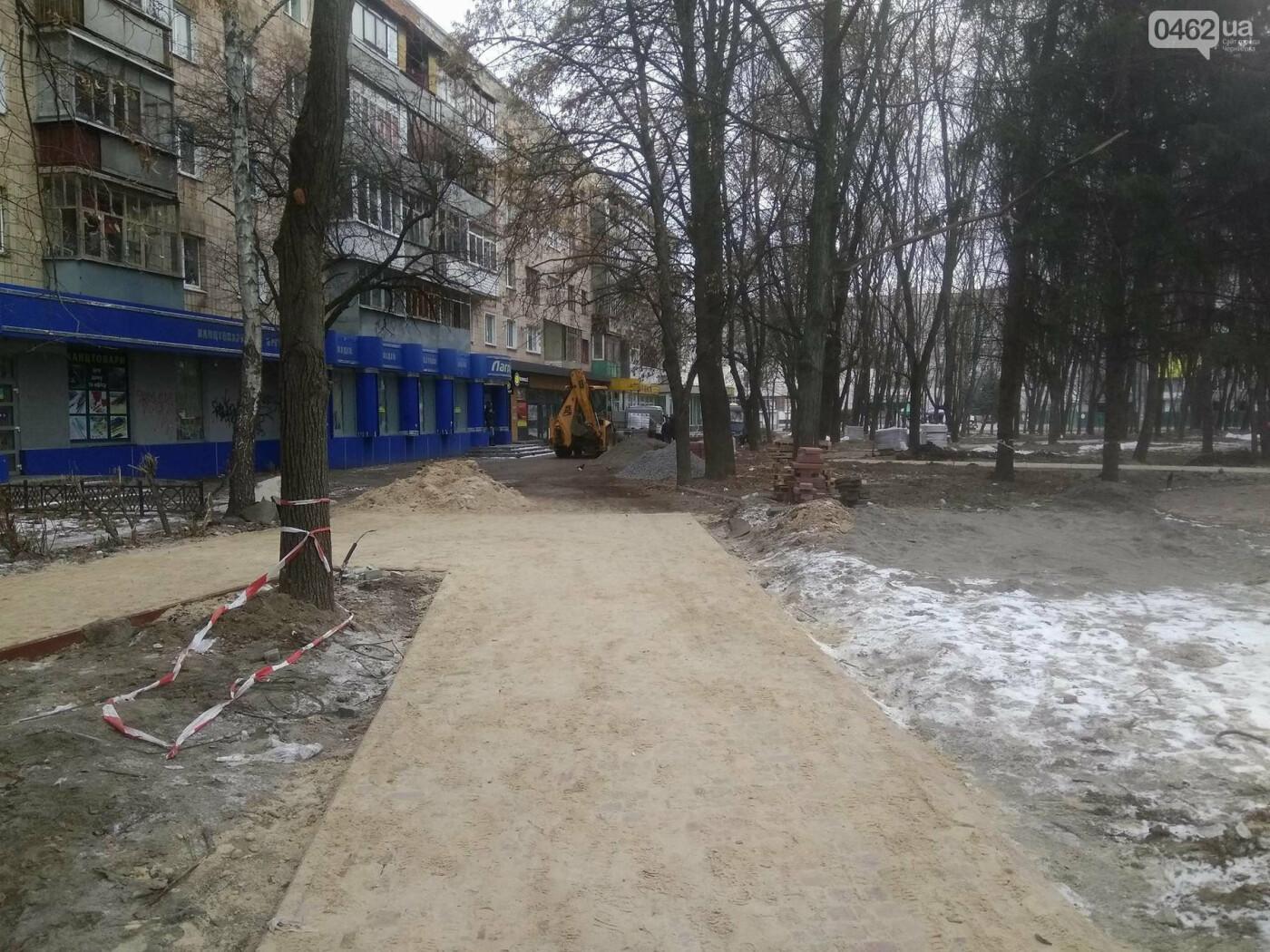 Ремонт скверу навпроти Політеху планують завершити в травні, фото-9