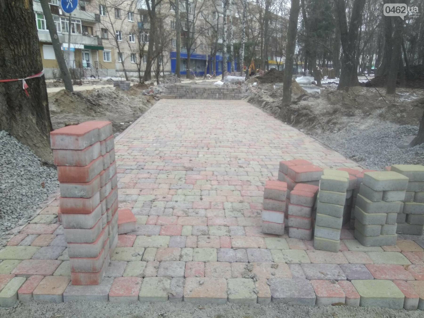 Ремонт скверу навпроти Політеху планують завершити в травні, фото-1