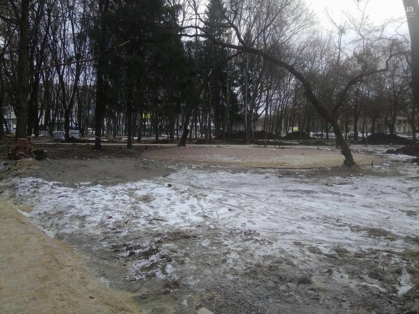 Ремонт скверу навпроти Політеху планують завершити в травні, фото-10