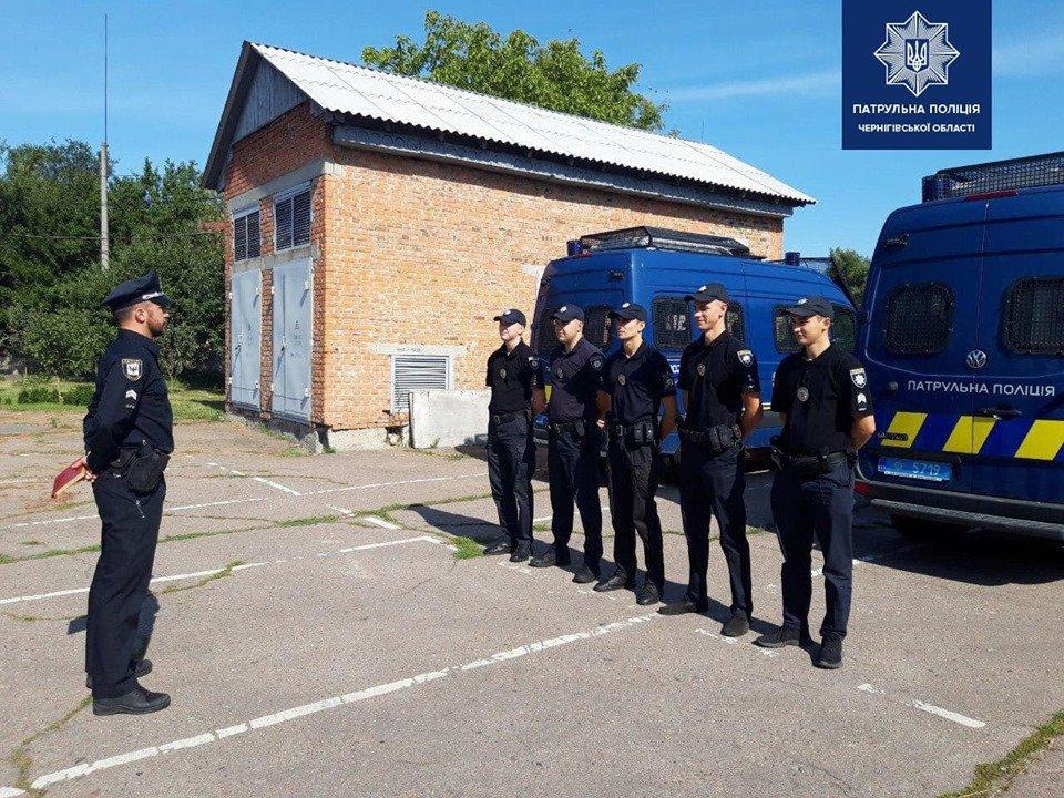 Черниговские патрульные отправились на Донбасс, фото-1
