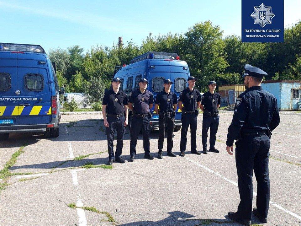 Черниговские патрульные отправились на Донбасс, фото-2