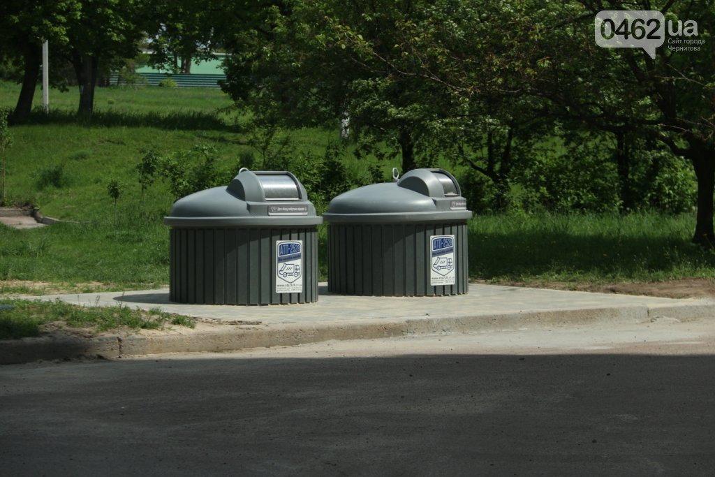 У Чернігові побільшає нових сміттєвих майданчиків, фото-1