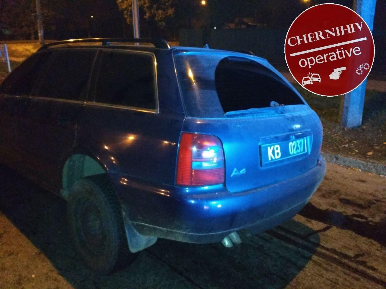 Сбегая от полиции потерял колесо: в Чернигове очередное ДТП, фото-5