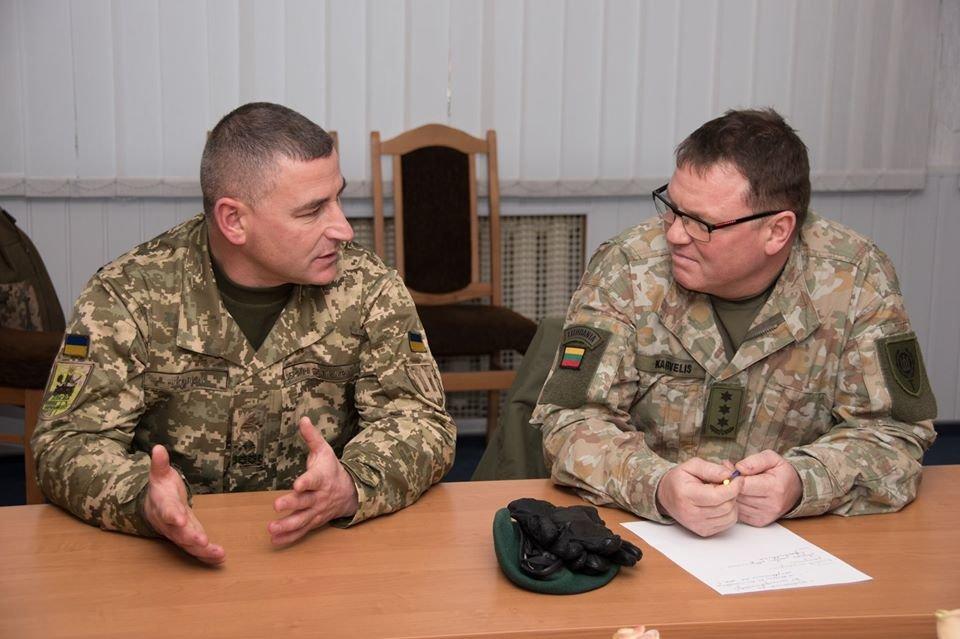 Армійці з Литви відвідали Навчальний центр «Десна» на Чернігівщині, фото-21