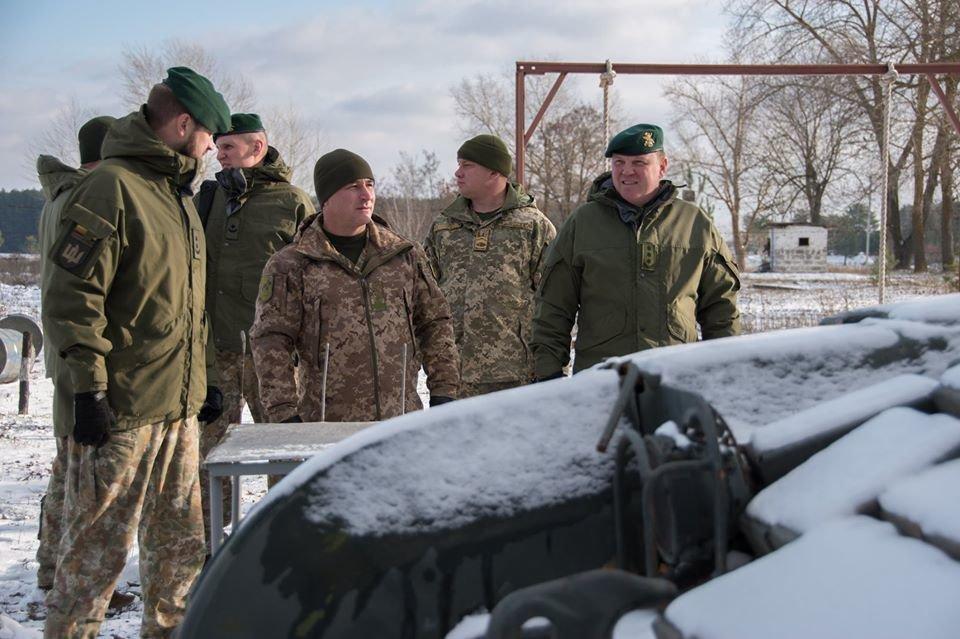 Армійці з Литви відвідали Навчальний центр «Десна» на Чернігівщині, фото-1