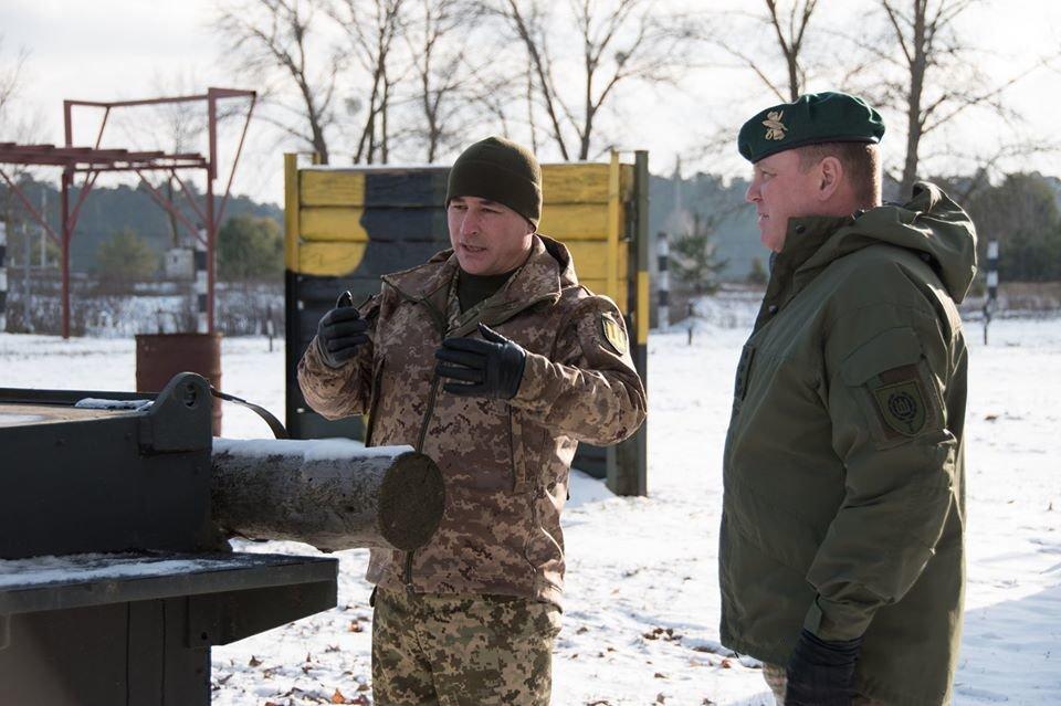 Армійці з Литви відвідали Навчальний центр «Десна» на Чернігівщині, фото-2
