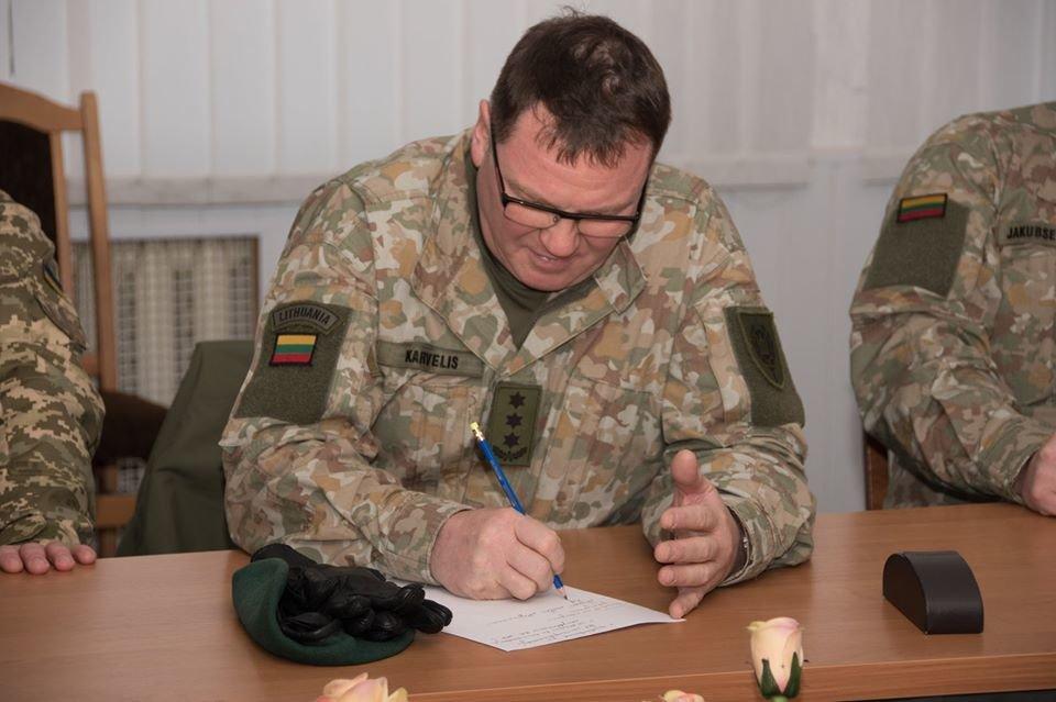 Армійці з Литви відвідали Навчальний центр «Десна» на Чернігівщині, фото-22