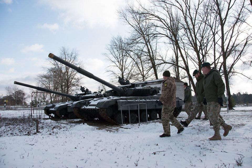 Армійці з Литви відвідали Навчальний центр «Десна» на Чернігівщині, фото-3