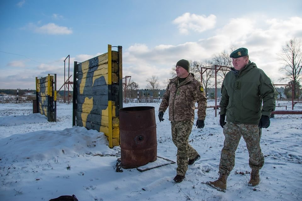 Армійці з Литви відвідали Навчальний центр «Десна» на Чернігівщині, фото-6