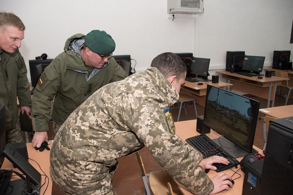 Армійці з Литви відвідали Навчальний центр «Десна» на Чернігівщині, фото-16