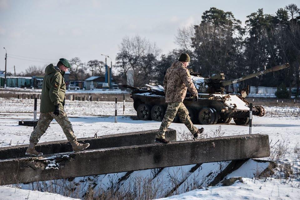 Армійці з Литви відвідали Навчальний центр «Десна» на Чернігівщині, фото-9