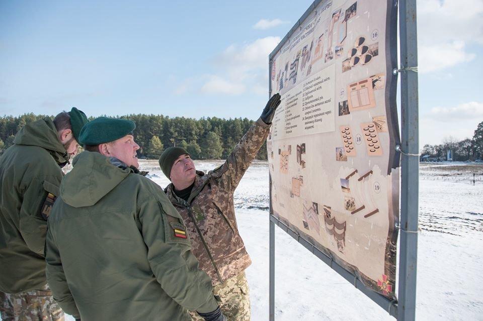 Армійці з Литви відвідали Навчальний центр «Десна» на Чернігівщині, фото-11
