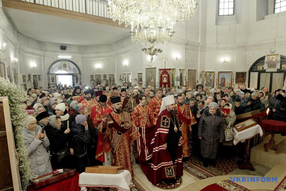 Катерининську церкву у Чернігові відвідав митрополит Київський і всієї України Епіфаній, фото-1