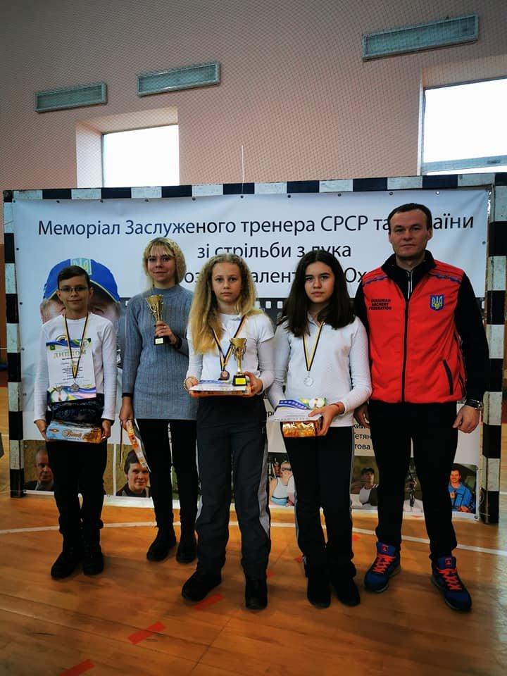Черниговские спортсмены -  призеры всеукраинских соревнований по стрельбе из лука, фото-1