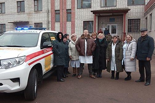 Обновка: больница на Черниговщине получила новую скорую, фото-1