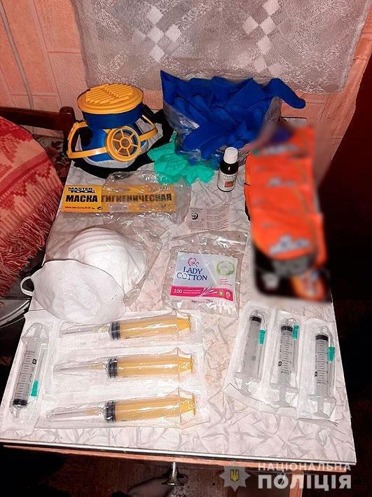 Амфетамин и марихуана для Черниговщины: полиция накрыла нарколабораторию, фото-3
