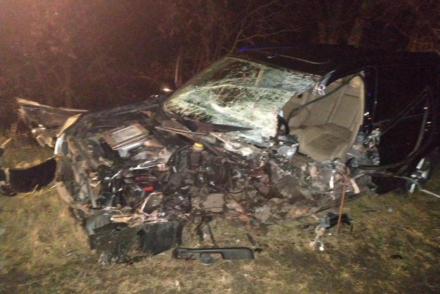 Разбитые вдребезги авто и смерть водителя: на Черниговщине очередное ДТП, фото-2