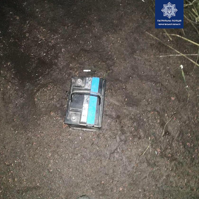 По гарячих слідах: чернігівські патрульні затримали крадія, фото-1