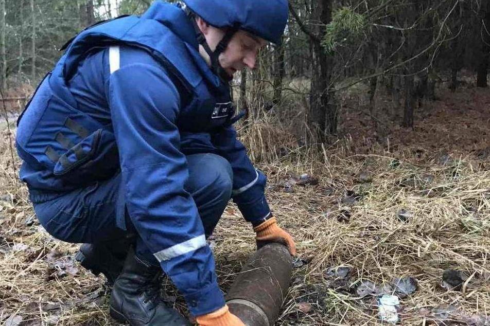 Небезпечні знахідки: на Чернігівщині знищили два снаряди, фото-1