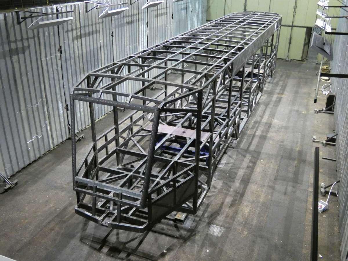 Трамваи в Чернигове: на автозаводе изготовлен первый каркас, фото-1