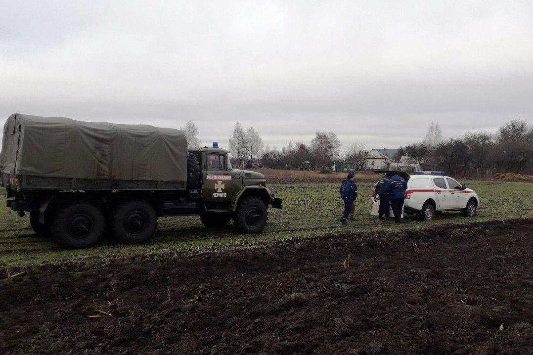 На Черниговщине за два дня нашли более 40 снарядов прошлых войн, фото-10
