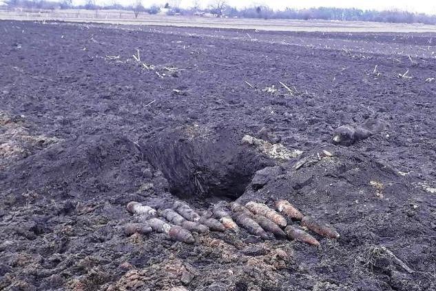 На Черниговщине за два дня нашли более 40 снарядов прошлых войн, фото-1