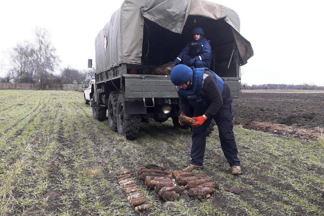 На Черниговщине за два дня нашли более 40 снарядов прошлых войн, фото-3