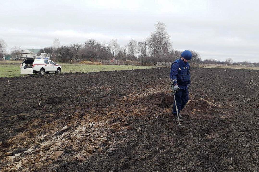 На Черниговщине за два дня нашли более 40 снарядов прошлых войн, фото-9