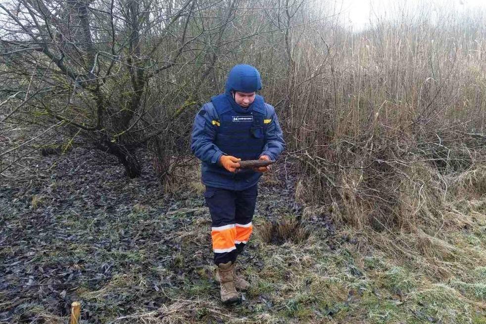 На Черниговщине за два дня нашли более 40 снарядов прошлых войн, фото-5