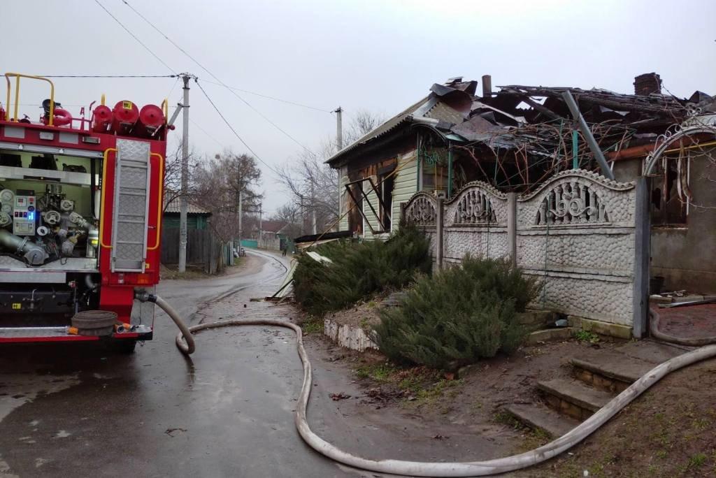 Спасатели Черниговщины обнаружили тело женщины во время тушения пожара, фото-1