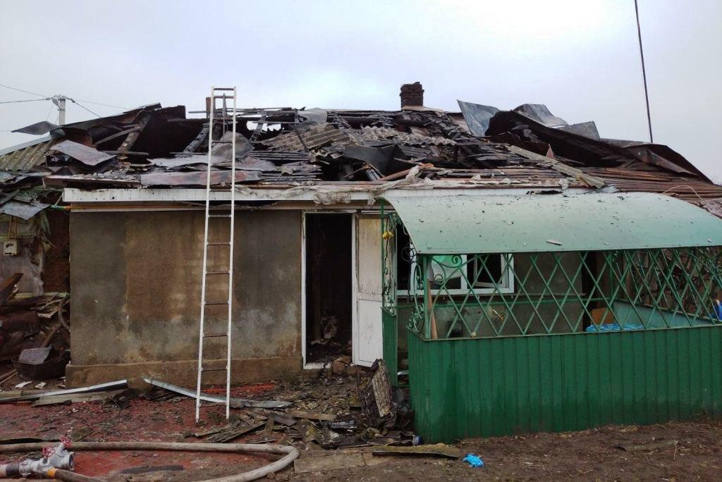 Спасатели Черниговщины обнаружили тело женщины во время тушения пожара, фото-3