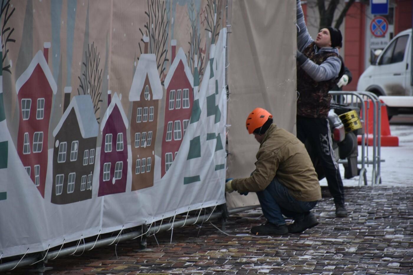 Святкове містечко на Красній площі почали розбирати, фото-3