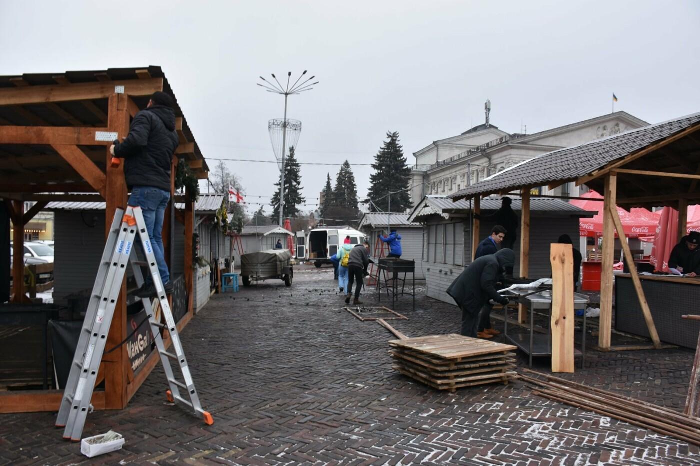 Святкове містечко на Красній площі почали розбирати, фото-4