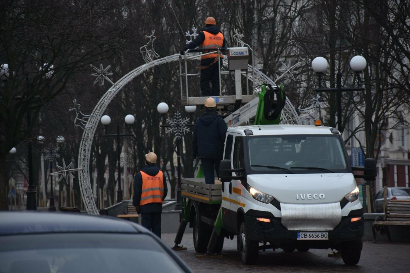 Святкове містечко на Красній площі почали розбирати, фото-5