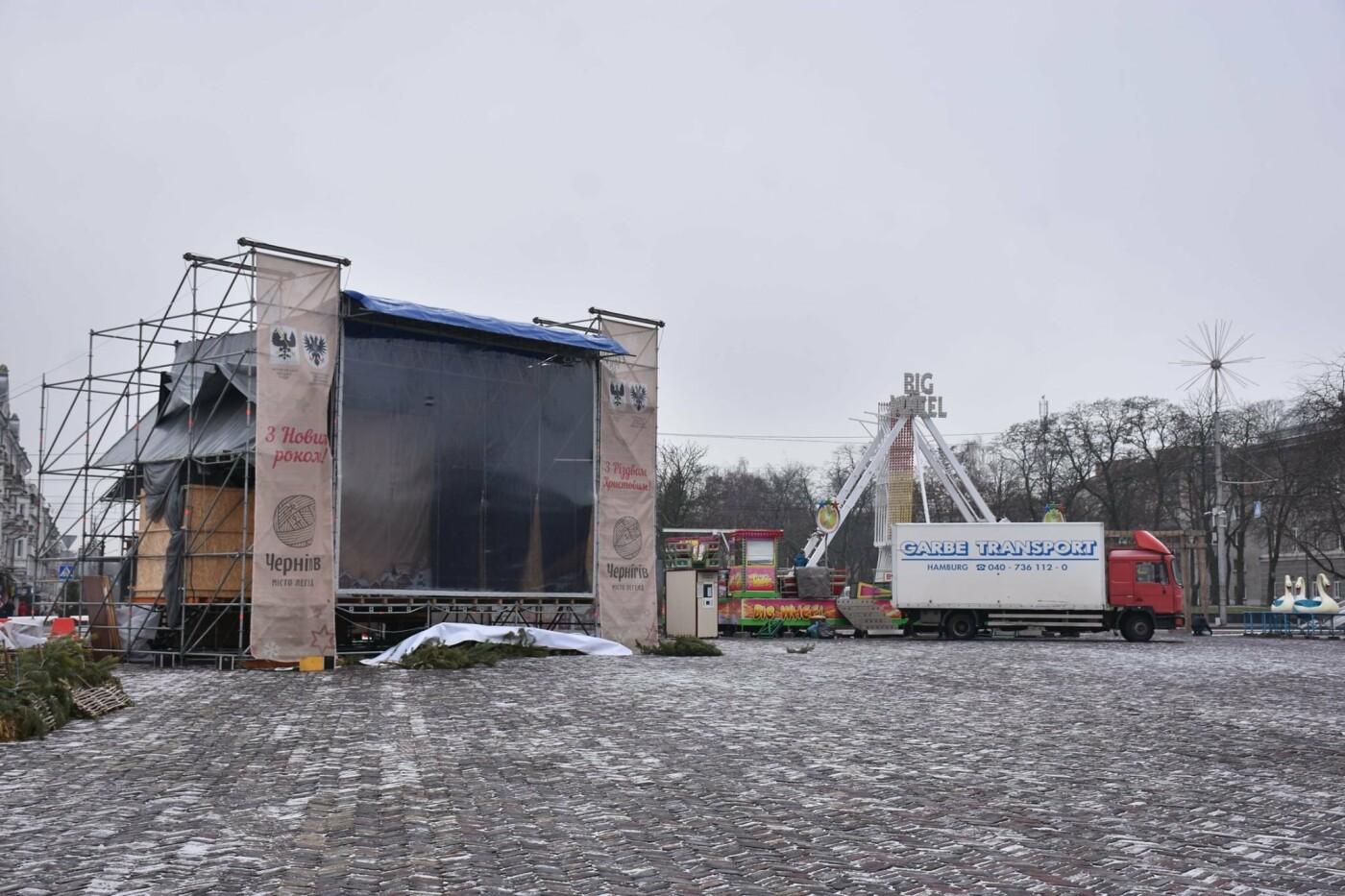 Святкове містечко на Красній площі почали розбирати, фото-10
