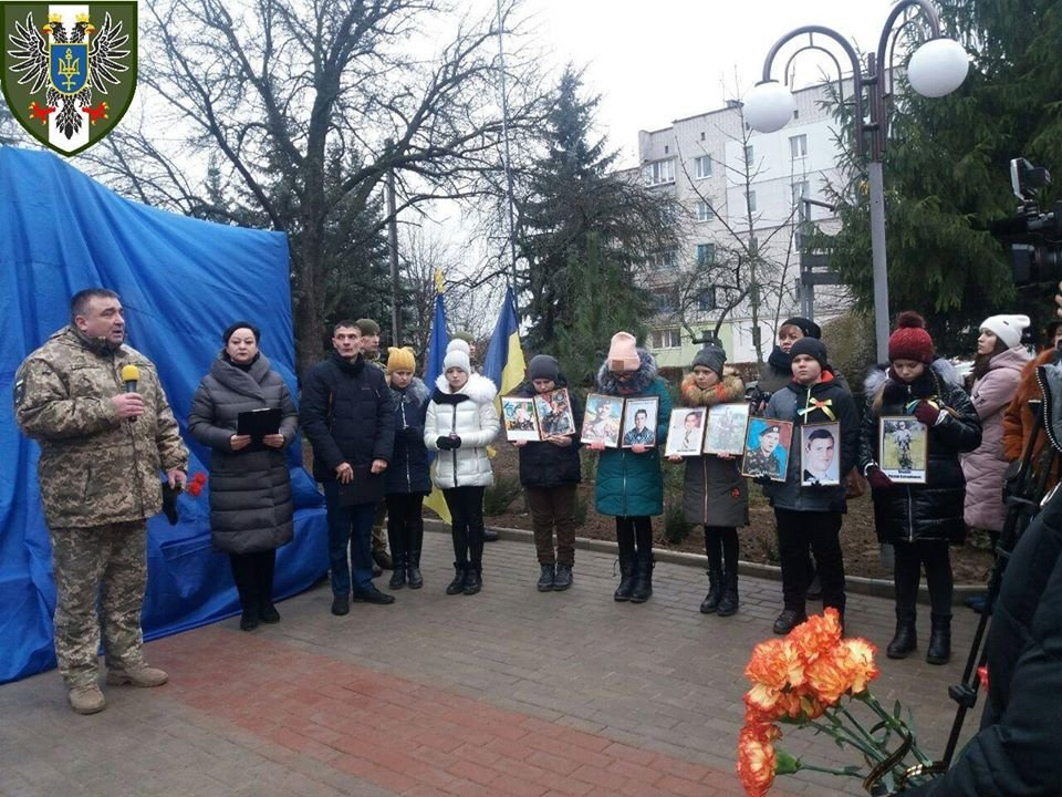 Пам'ятник на честь полеглих в зоні АТО/ООС відкрили на Чернігівщині, фото-2