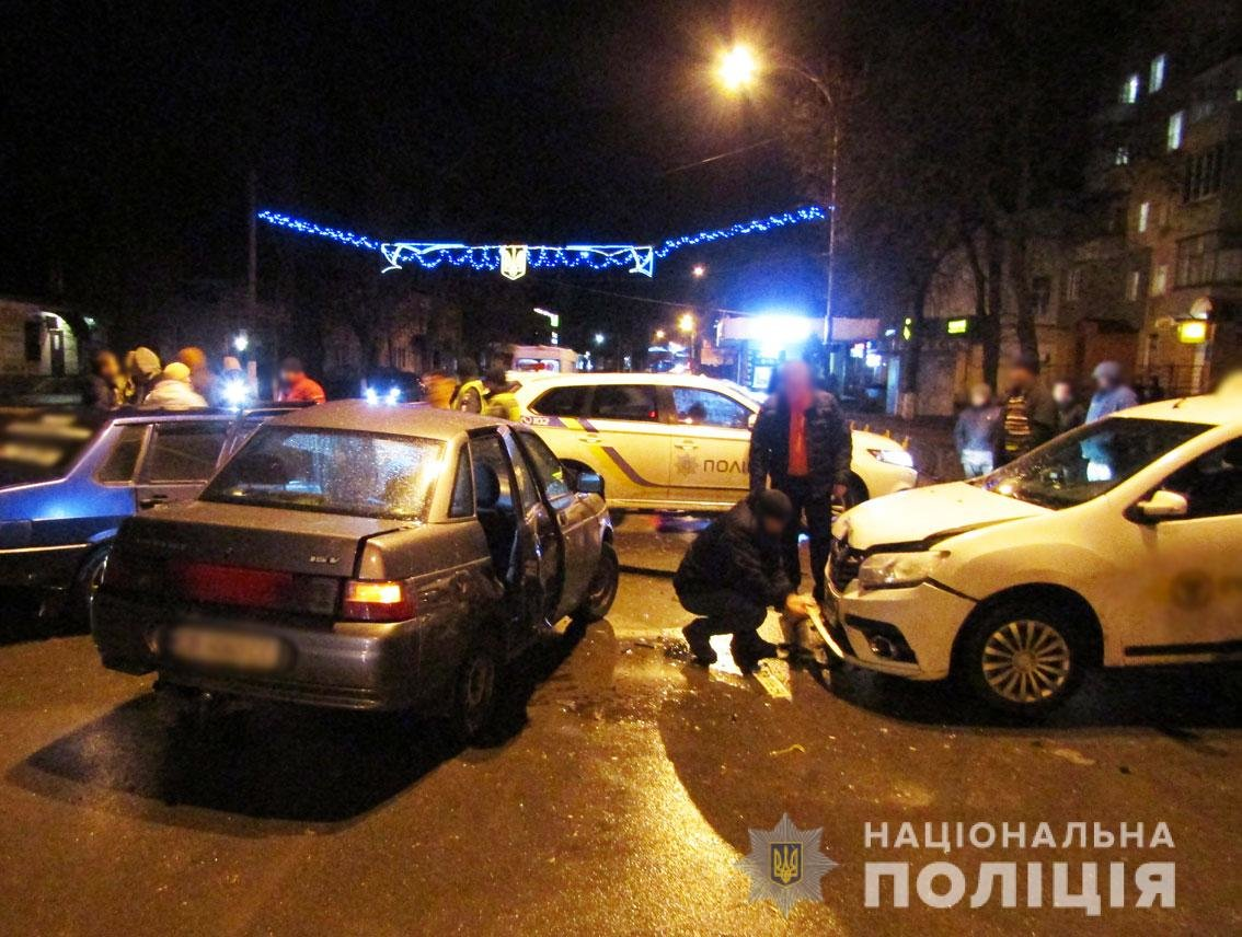 ДТП с пострадавшими: на Черниговщине столкнулись 3 авто, фото-3
