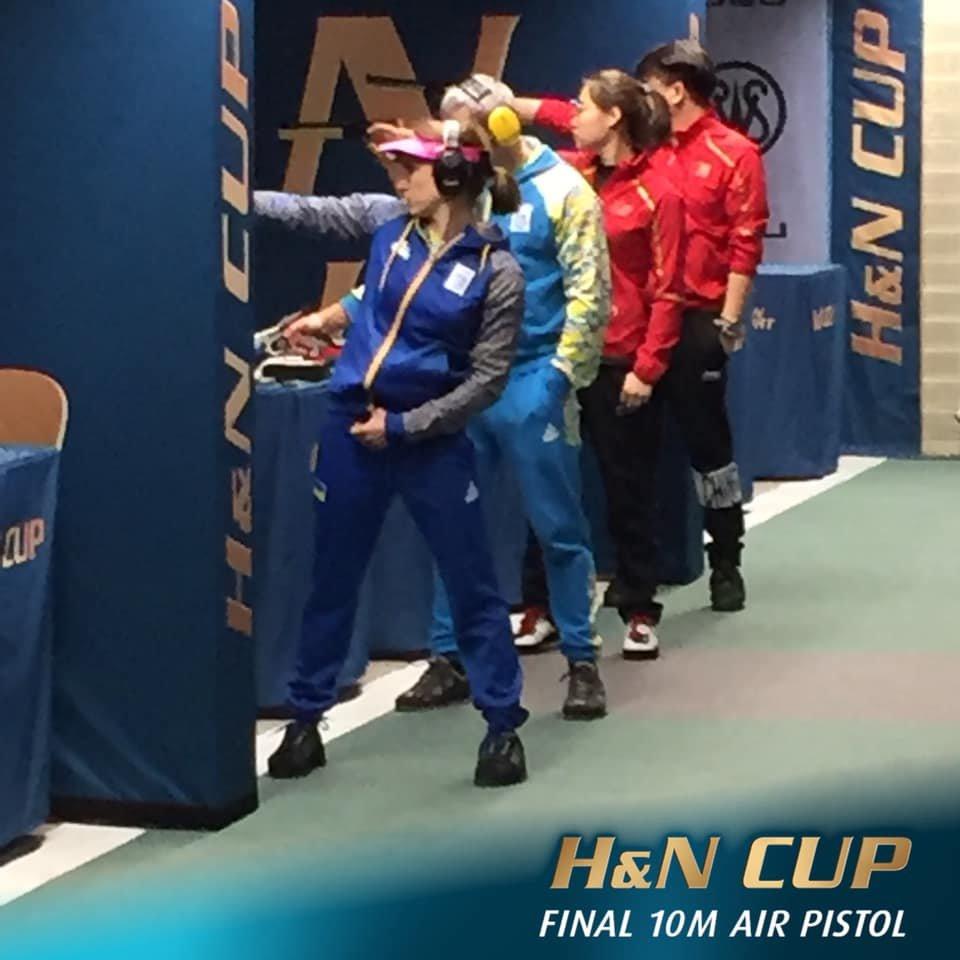 Чернігівська стрільчиня Олена Костевич здобула дві золоті медалі на міжнародному турнірі, фото-1